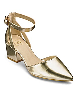 Sole Diva Ankle Strap Courts EEE Fit