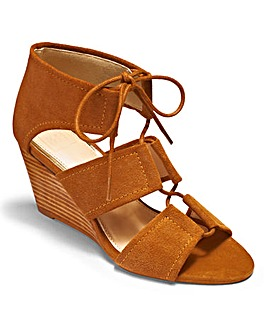 Sole Diva Wedge Sandals EEE Fit