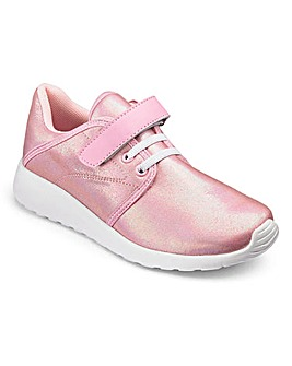 TKD Girls Shimmer Trainers