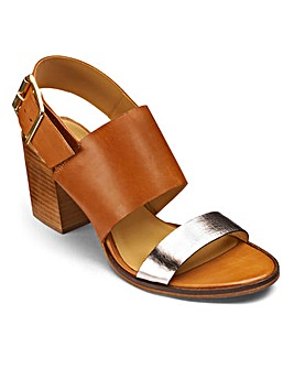 Sole Diva Block Heel Sandals D Fit