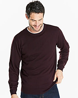 Capsule Plum Crew Neck Jumper