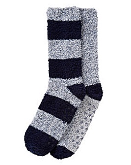 Capsule Pack of 2 Slipper Socks