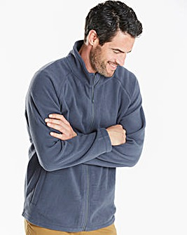 Capsule Grey Full Zip Through Fleece R