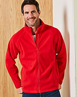 Capsule Red Full Zip Through Fleece R