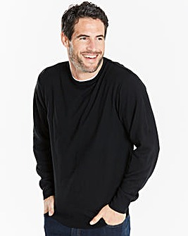 Capsule Black Crew Neck Jumper R