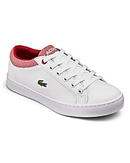 Lacoste Straightset Boys Junior Trainers