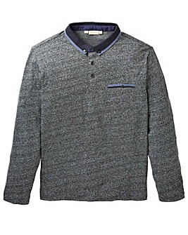WILLIAMS & BROWN Long Sleeve Polo