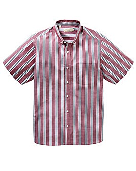 WILLIAMS & BROWN S/S Stripe Shirt