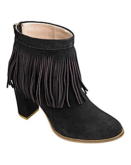 Sole Diva Suede Ankle Boots D Fit