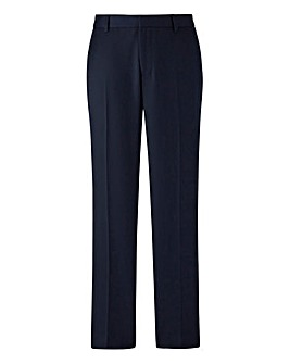 W&B London Slim Fit Textured Trousers