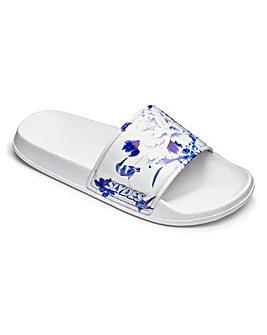 Slydes Porcelain Print Sandals