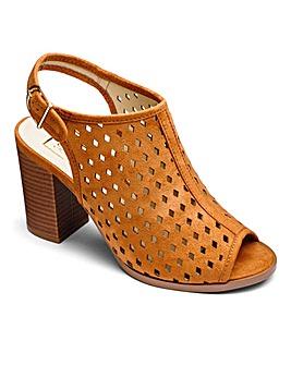 Sole Diva Block Heel Shoe Boots EEE Fit