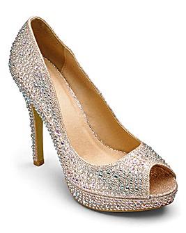 AX Paris Peep Toe Shoes D Fit