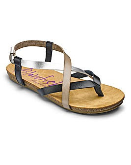 Blowfish Strappy Sandals D Fit