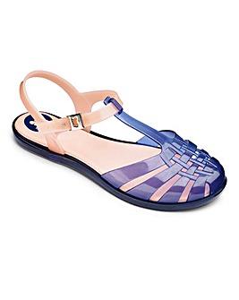 Zaxy Dream T Bar Shoes D Fit