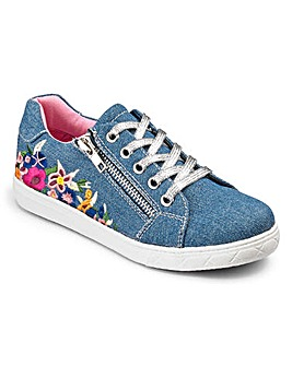 KD Girls Embroidered Trainers