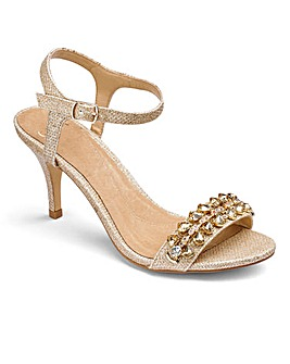 Coast Embellished Sandals D Fit