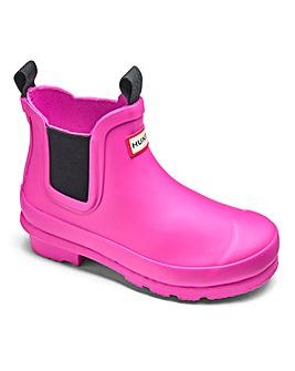 Hunter Original Kids Chelsea Boots
