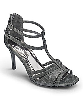 Sole Diva Glitter Sandals EEE Fit