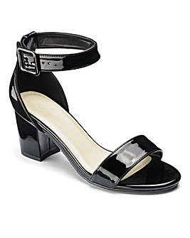 Sole Diva Block Heel Sandals E Fit