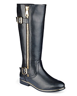 Sole Diva Buckle Boots Standard E Fit