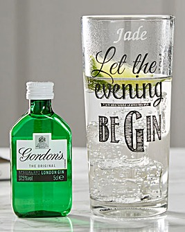 Personalised Gin and Tonic Set