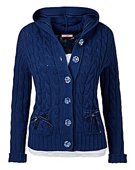 Joe Browns Cable Knit Cardigan