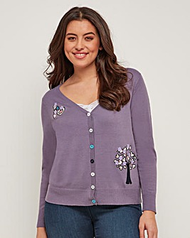 Joe Browns Applique Cardigan