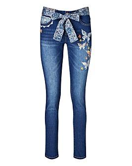 Joe Browns Embroidered Boyfriend Jeans