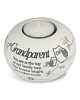 Grandparent Sentiments Tea Light Holder