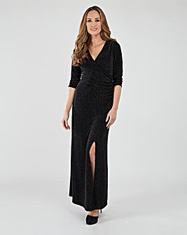 Joe Browns Glitter Wrap Dress
