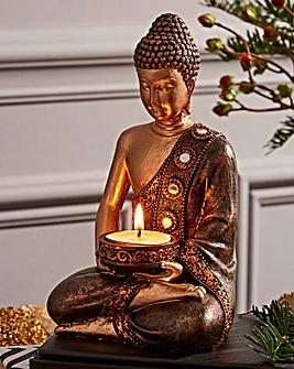 Thai Buddha Tea light Holder