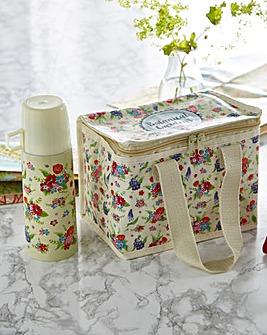 Botanical Garden Flask and Cool bag Set