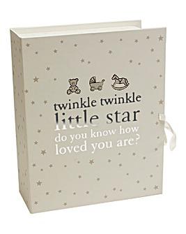 Twinkle Twinkle Keepsake Box with Drawer