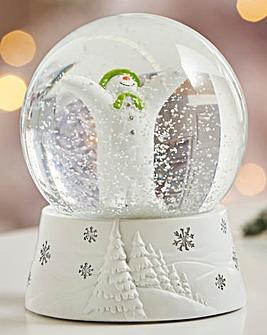 The Snowman Snow Globe