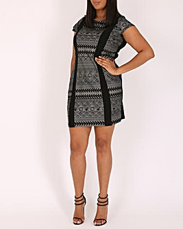 Samya Tribal Bodycon Dress