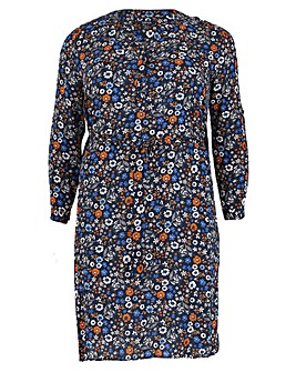 Samya Daisy Print Tie Dress