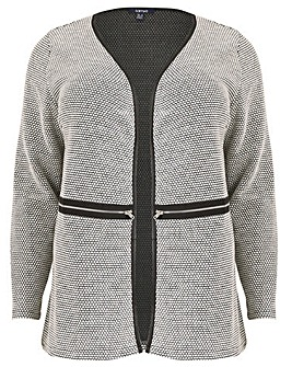 Samya Monochrome Cardigan Coat