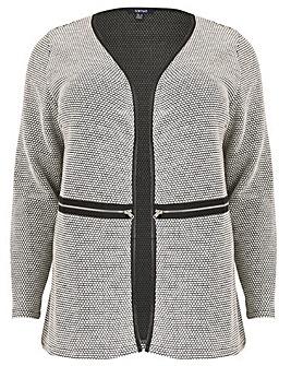 Samya Monochrome Cardigan Coat