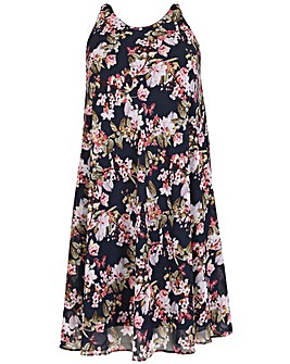 emily Floral Swing Dress