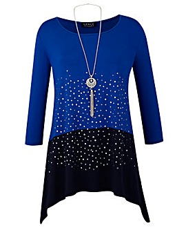 Grace Made in Britain tunic + necklace