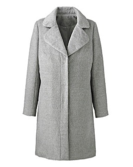Brushed Textured Coat