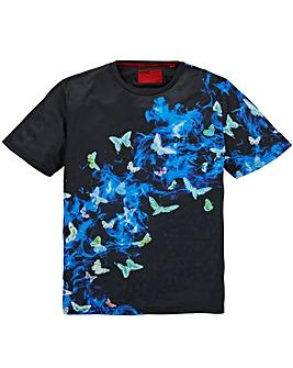 DFND Smoke Butterfly T-Shirt Long