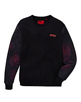 DFND Dawson Rose Crew Neck Sweat Long