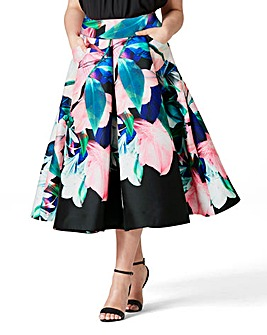 Coast Brazil Print Full Skirt