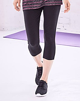 Label Be Three-Quarter Leggings