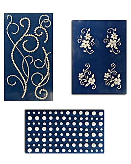 Tattered Lace Blinging Gems - Pearl