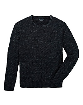 Label J Twisted Textured Knit Regular