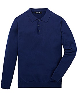 Black Label Knitted Polo Regular
