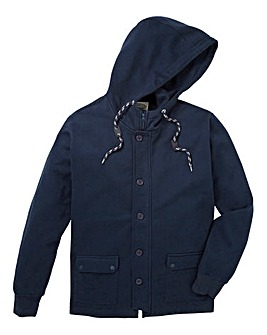 Jacamo Calera Toggle Hooded Top Long
